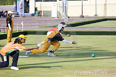 13th Asia Pacific Bowls Championship 2009 Editorial Stock Image