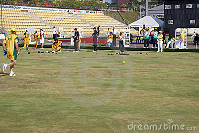 13th Asia Pacific Bowls Championship 2009 Editorial Stock Photo