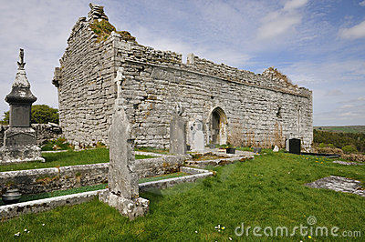 13th century Carron Church