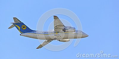An-148 Editorial Stock Image