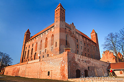 14th century Teutonic castle in Gniew