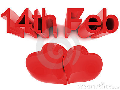 14th February St. Valentines Day
