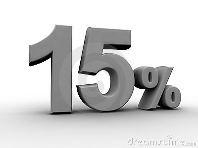 15 процентов