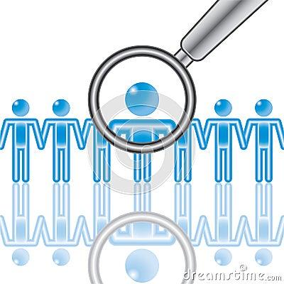 15. Employee Search in blue.