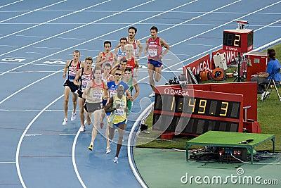 1500 meters men Editorial Stock Image