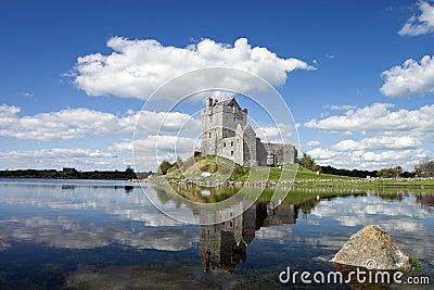 15th century Dunguaire Castle in Kinvara, Ireland.