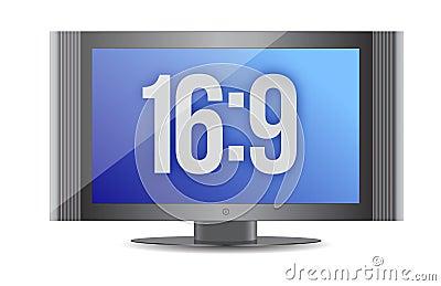 16:9 flat screen monitor