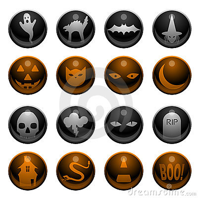 16 Halloween icons