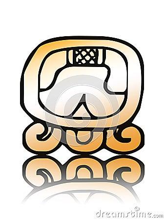 16 Kib - maya calendar seal vector