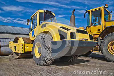 16 tonnes single drum rollers (bomag)
