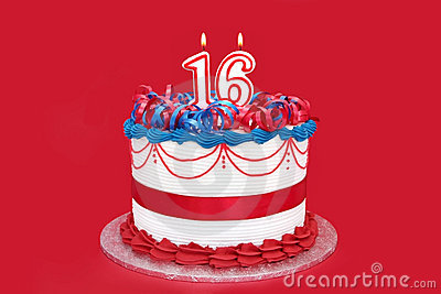 16th Cake