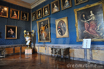 17th century Galleries, Versailles Editorial Image