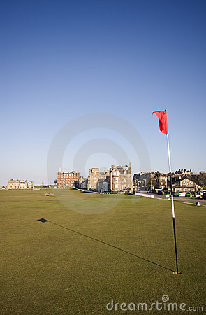 17th green, St Andrews Old Course