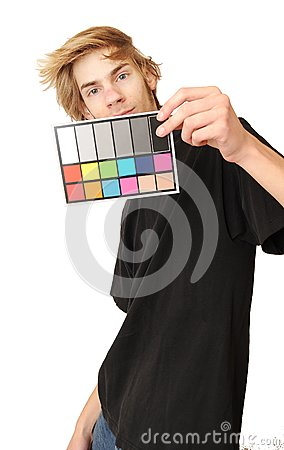 18  Gray White Balance Color Card
