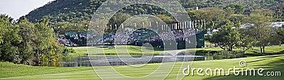18. Loch - panoramisch Redaktionelles Foto