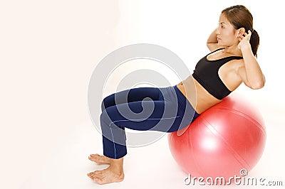 180 Fitball Crunch 2