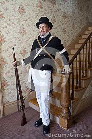 1812 or Civil War Reenactor
