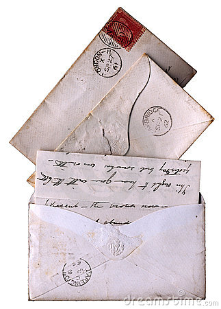 1860s letters victorian