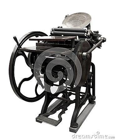 1888 letterpress