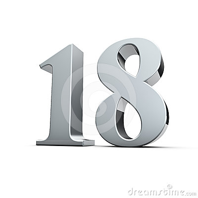 18th Birthday Royalty Free Stock Photo - Image: 24495665