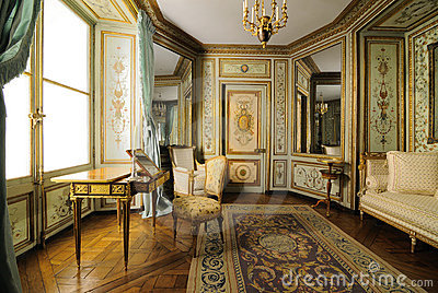 18th Century European Furniture Editorial Photography
