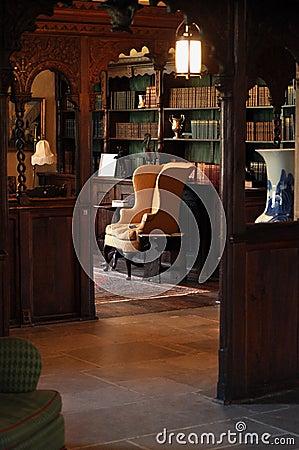 19 century library