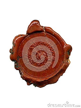 1900s wax seal