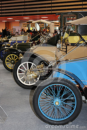 1912 motor show Editorial Photo