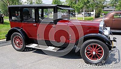 1925 11-A Franklin Sedan Editorial Photo