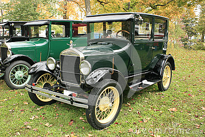 1927 Model T Ford Two Door Sedan