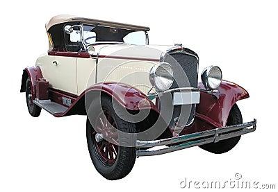 1929辆敞篷车desoto