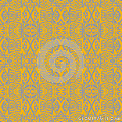 1930 art deco floral vector seamless pattern
