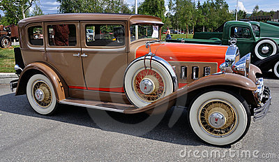 1930 Willys-Knight 66 B Sedan Editorial Photo