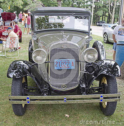1931 Ford Town Sedan front view Editorial Stock Image