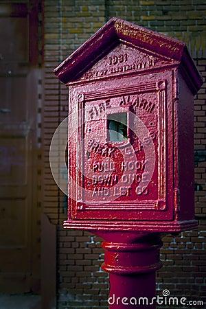 1931 Vintage Fire Alarm