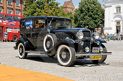 1932 Oldsmobile F-32 Six Editorial Stock Image