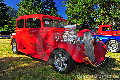 1935 Chevy Hot rod Editorial Photo