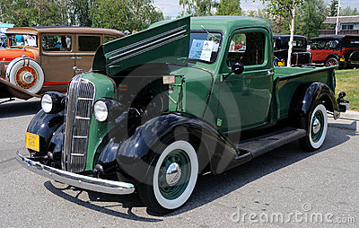 1936 Dodge Pickup Editorial Stock Photo