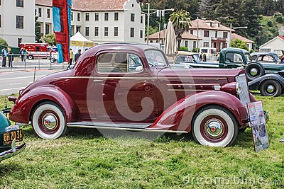 1937 Packard 110 Coupe Editorial Stock Photo