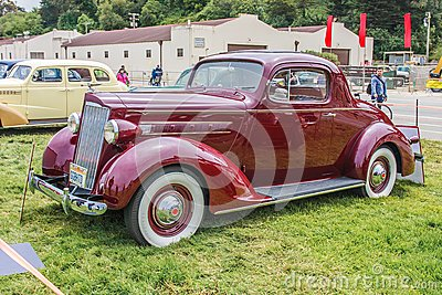 1937 Packard 110 Coupe Editorial Photo