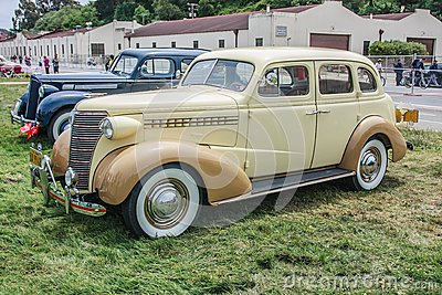 1938 Chevrolet 4 door sedan Editorial Stock Photo