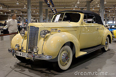 1939 Packard 1700 Editorial Stock Photo