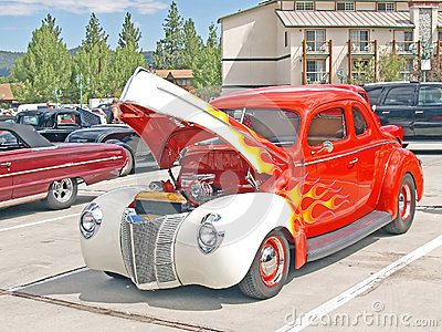 1940 Ford Coupe Editorial Stock Photo