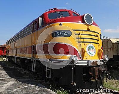 1940 s Electric Diesel Locomotive