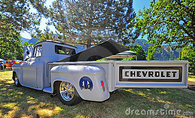 1940 s Era Chevrolet Pickup Truck Editorial Stock Image