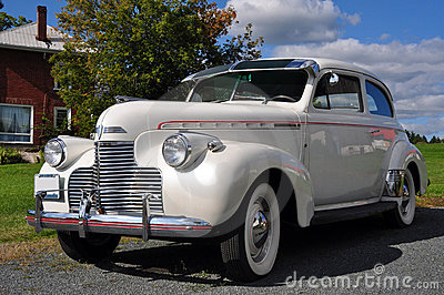 1940 White Chevrolet Master Editorial Photography