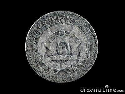 1942 United States Silver Quarter