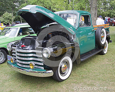 1948 Chevy Pickup Truck Editorial Photo