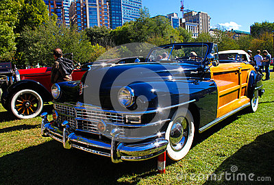 1948 Chrysler Town & Country Editorial Stock Image