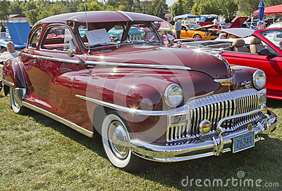 1948年DeSoto汽车侧视图 编辑类图片